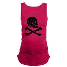 Henry Every Jolly Roger:Pirate  Maternity Tank Top