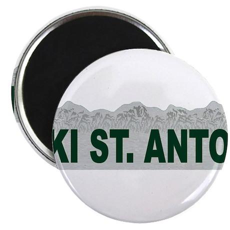 "Ski St. Anton, Austria 2.25"" Magnet (10 pack)"