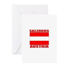 Salzburg, Austria Greeting Cards (Pk of 10)