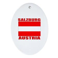 Salzburg, Austria Oval Ornament