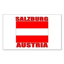 Salzburg, Austria Rectangle Decal