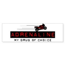 2 Wheel Attitude Bumper Bumper Sticker
