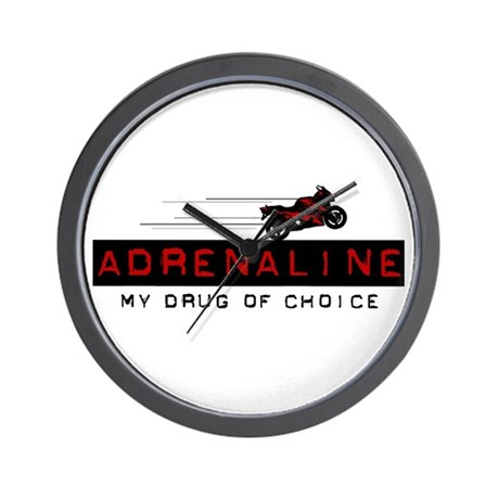 2 Wheel Attitude Wall Clock