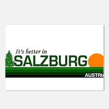 Its Better in Salzburg, Austr Postcards (Package o