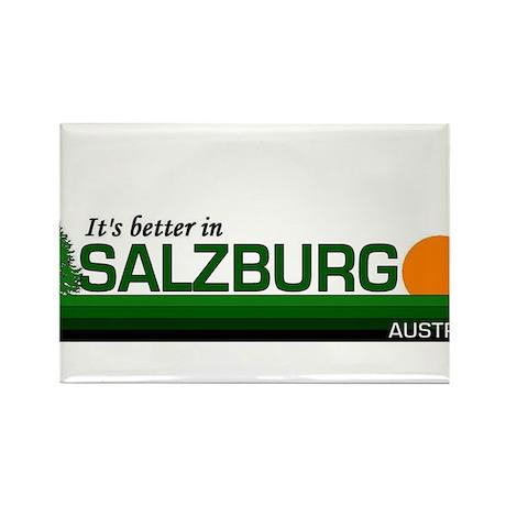 Its Better in Salzburg, Austr Rectangle Magnet (10