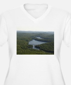 View from Above Plus Size T-Shirt