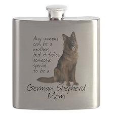 Shepherd Mom Flask