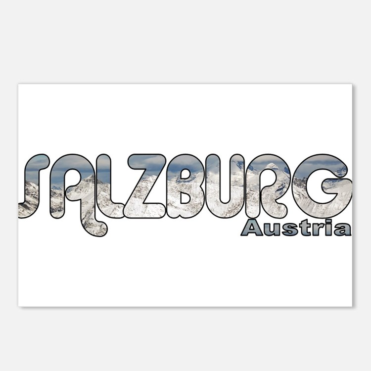 Salzburg, Austria Postcards (Package of 8)