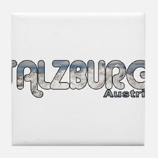 Salzburg, Austria Tile Coaster
