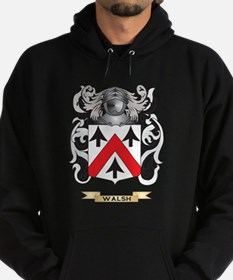 Walsh Family Crest (Coat of Arms) Hoody