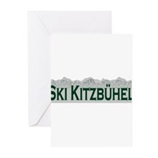 Ski Kitzbuhel, Austria Greeting Cards (Package of