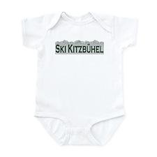 Ski Kitzbuhel, Austria Infant Bodysuit