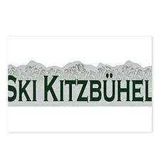 Ski Kitzbuhel, Austria Postcards (Package of 8)