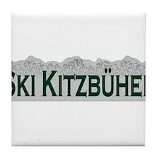 Ski Kitzbuhel, Austria Tile Coaster