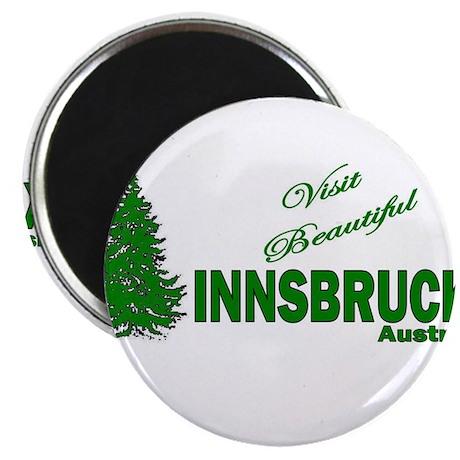 """Visit Innsbruck, Austria 2.25"""" Magnet (10 pack)"""