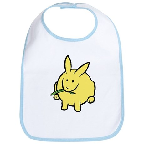 Colorful Bunny Bib