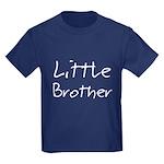 Little Brother (Black Text) Kids Dark T-Shirt