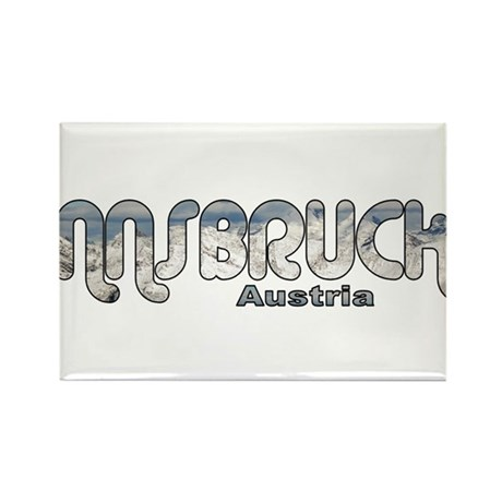 Innsbruck, Austria Rectangle Magnet (10 pack)