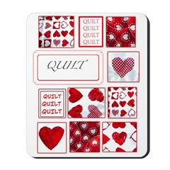 Love to Quilt Mousepad