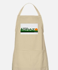 Its Better in Graz, Austria BBQ Apron