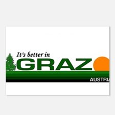 Its Better in Graz, Austria Postcards (Package of