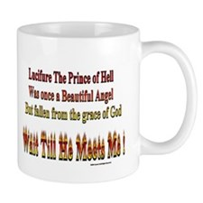 Mug  Lucifure The prince of Hell Gag