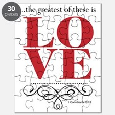 The Greatest of These is LOVE quote Puzzle