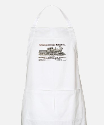 Rogers Locomotive Works 1870 BBQ Apron