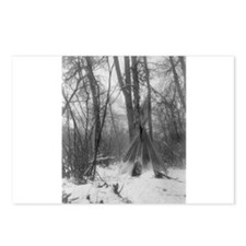 Forest Tipi Postcards (Package of 8)