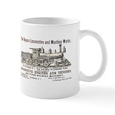 Rogers Locomotive Works 1870 Mug