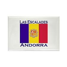 Las Escalades, Andorra Rectangle Magnet