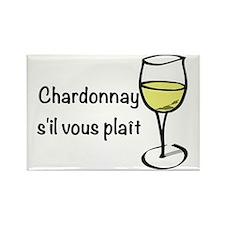 Chardonnay s'il vous plait Rectangle Magnet