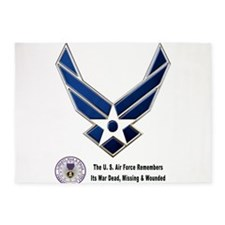The USAF Remembers 5'x7'Area Rug