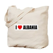 I Love Albania Tote Bag