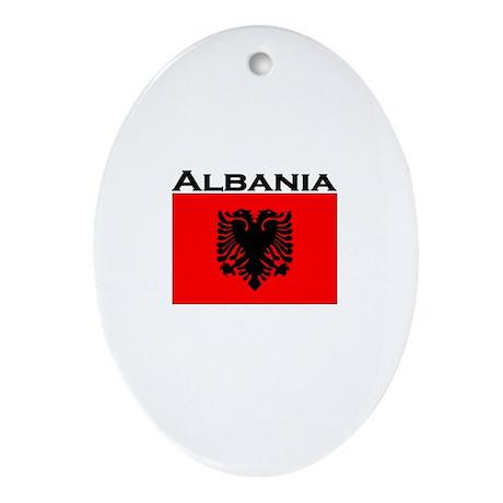 Albania Oval Ornament