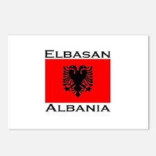 Elbasan, Albania Postcards (Package of 8)