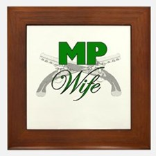 MP Wife Framed Tile
