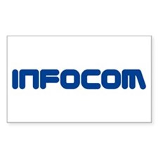 Infocom (Zork) Rectangle Decal