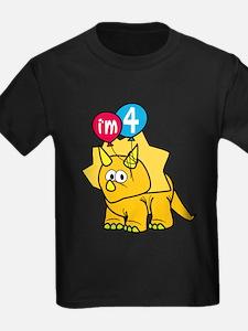 """I'm 4"" Dinosaur T"
