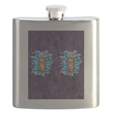 Water Splash Cat Goldfish Flask