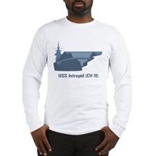 USS Intrepid Long Sleeve T-Shirt
