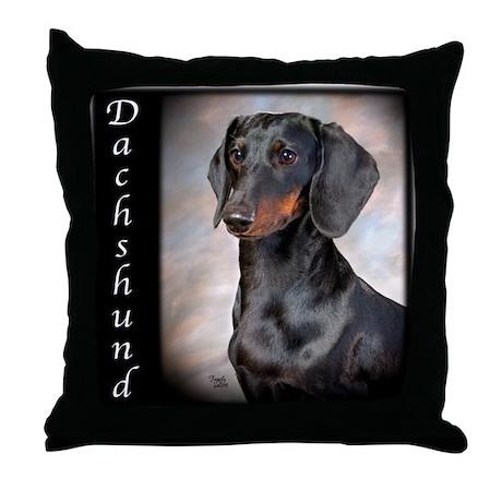 Dachshund Smooth Throw Pillow