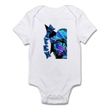 The Goddess Aqua Blue Infant Bodysuit