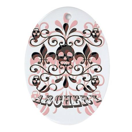 archery Oval Ornament