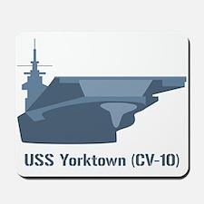 USS Yorktown Mousepad