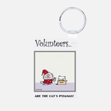 Volunteers Are The Cat's P Keychains