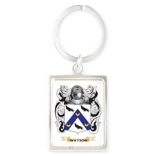 Watson (Scottish) Family Crest ( Portrait Keychain