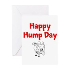Happy Hump Day Greeting Cards