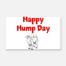 Happy Hump Day Rectangle Car Magnet