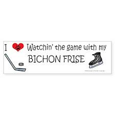 bichon frise Stickers